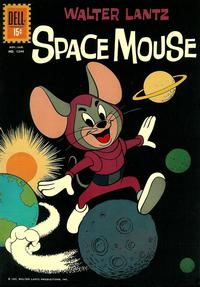 Cover Thumbnail for Four Color (Dell, 1942 series) #1244 - Walter Lantz Space Mouse