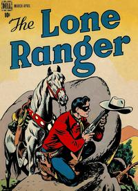Cover Thumbnail for The Lone Ranger (Dell, 1948 series) #2
