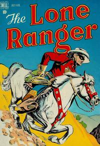 Cover Thumbnail for The Lone Ranger (Dell, 1948 series) #4