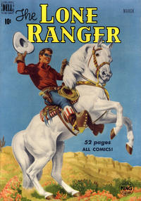 Cover Thumbnail for The Lone Ranger (Dell, 1948 series) #21