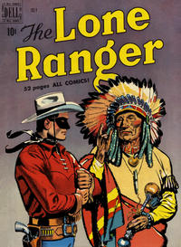 Cover Thumbnail for The Lone Ranger (Dell, 1948 series) #25