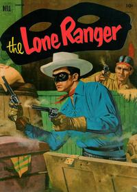 Cover Thumbnail for The Lone Ranger (Dell, 1948 series) #45