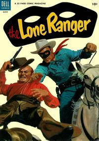 Cover Thumbnail for The Lone Ranger (Dell, 1948 series) #69