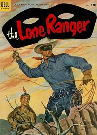 Cover Thumbnail for The Lone Ranger (Dell, 1948 series) #73