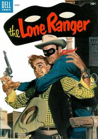 Cover Thumbnail for The Lone Ranger (Dell, 1948 series) #81