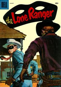 Cover Thumbnail for The Lone Ranger (Dell, 1948 series) #91