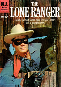 Cover Thumbnail for The Lone Ranger (Dell, 1948 series) #134