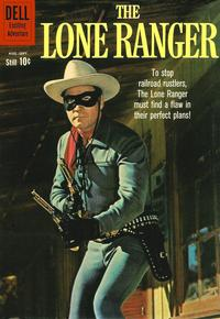 Cover Thumbnail for The Lone Ranger (Dell, 1948 series) #135