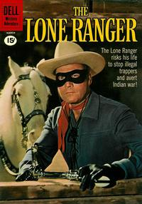 Cover Thumbnail for The Lone Ranger (Dell, 1948 series) #138