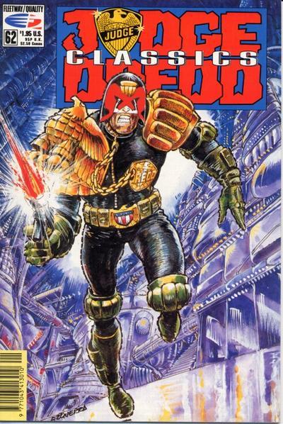 Cover for Judge Dredd Classics (Fleetway/Quality, 1991 series) #62