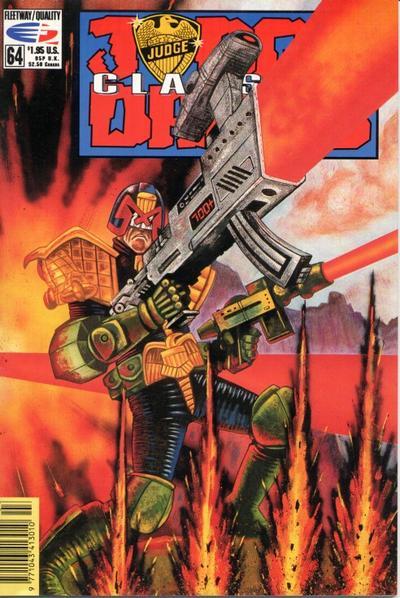 Cover for Judge Dredd Classics (Fleetway/Quality, 1991 series) #64