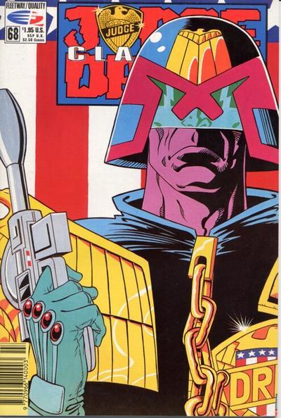 Cover for Judge Dredd Classics (Fleetway/Quality, 1991 series) #68