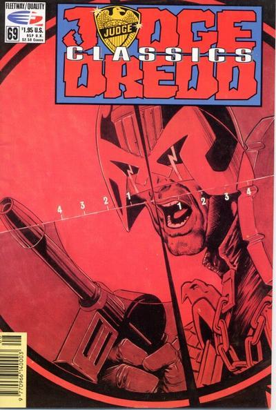 Cover for Judge Dredd Classics (Fleetway/Quality, 1991 series) #69