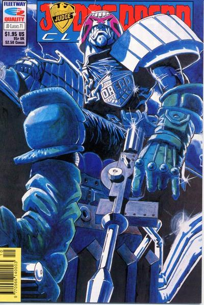 Cover for Judge Dredd Classics (Fleetway/Quality, 1991 series) #71