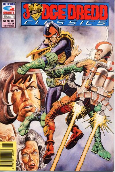 Cover for Judge Dredd Classics (Fleetway/Quality, 1991 series) #72