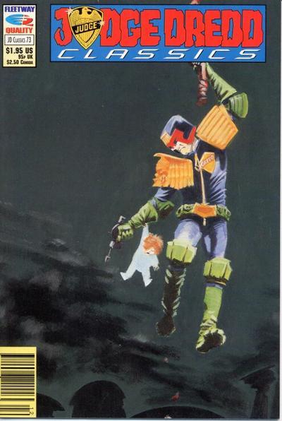 Cover for Judge Dredd Classics (Fleetway/Quality, 1991 series) #73