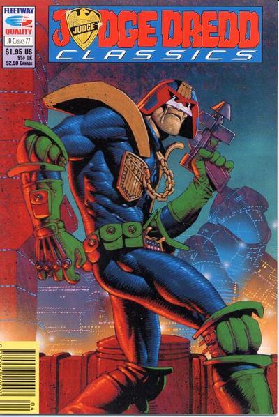 Cover for Judge Dredd Classics (Fleetway/Quality, 1991 series) #77