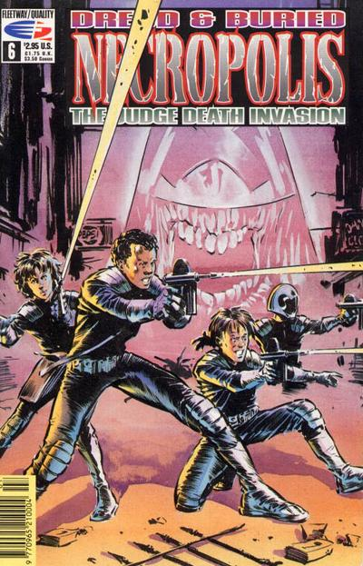 Cover for Necropolis: The Judge Death Invasion (Fleetway/Quality, 1991 series) #6