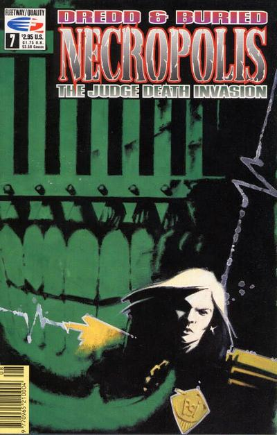 Cover for Necropolis: The Judge Death Invasion (Fleetway/Quality, 1991 series) #7