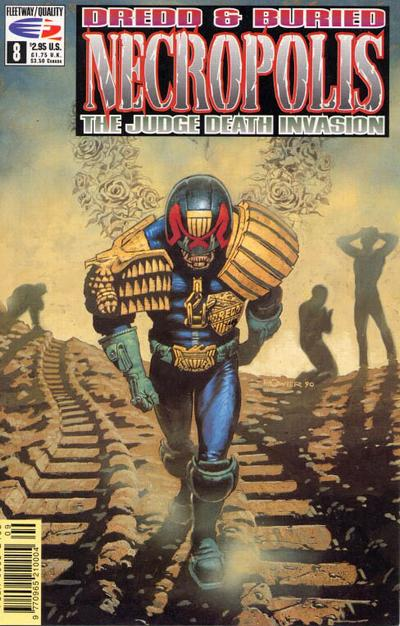 Cover for Necropolis: The Judge Death Invasion (Fleetway/Quality, 1991 series) #8