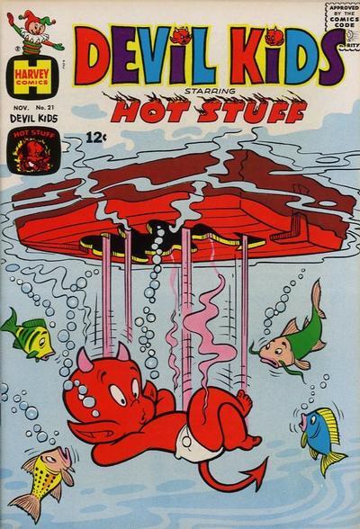 Cover for Devil Kids Starring Hot Stuff (Harvey, 1962 series) #21