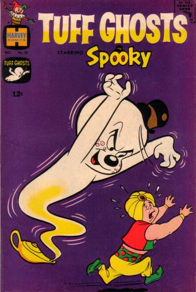 Cover for Tuff Ghosts Starring Spooky (Harvey, 1962 series) #25