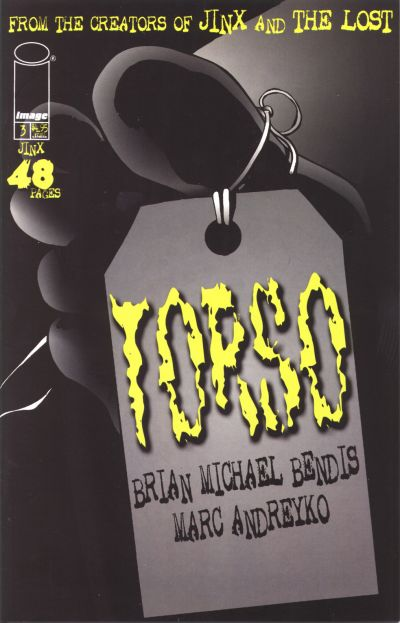 Cover for Jinx: Torso (Image, 1998 series) #3