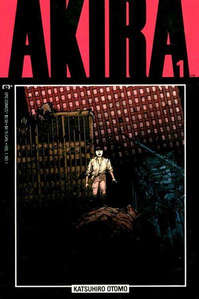 Cover for Akira (Marvel, 1988 series) #1