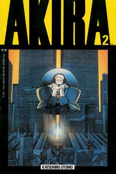 Cover for Akira (Marvel, 1988 series) #2