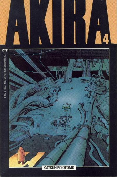 Cover for Akira (Marvel, 1988 series) #4
