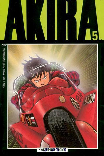 Cover for Akira (Marvel, 1988 series) #5