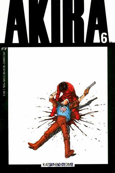 Cover for Akira (Marvel, 1988 series) #6