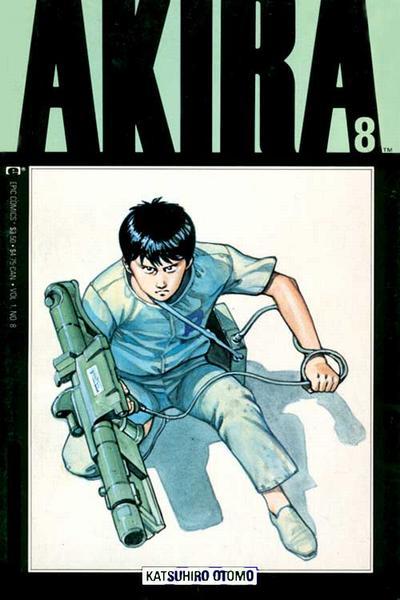 Cover for Akira (Marvel, 1988 series) #8
