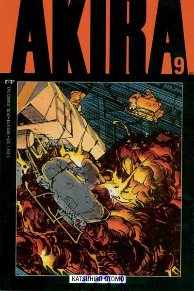 Cover for Akira (Marvel, 1988 series) #9