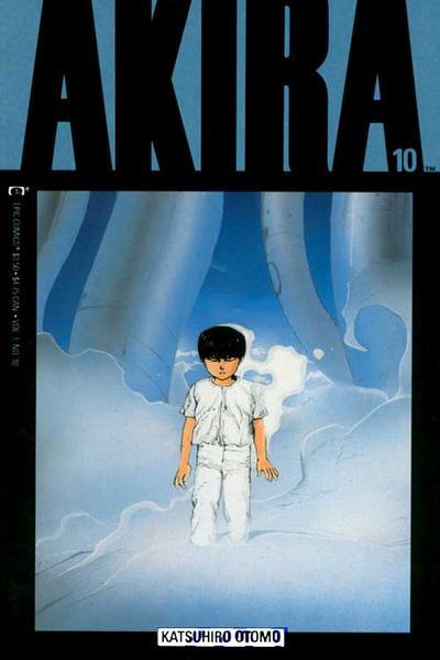 Cover for Akira (Marvel, 1988 series) #10