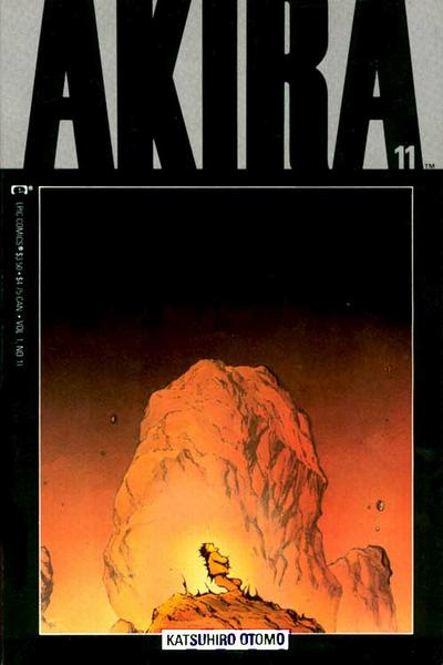 Cover for Akira (Marvel, 1988 series) #11