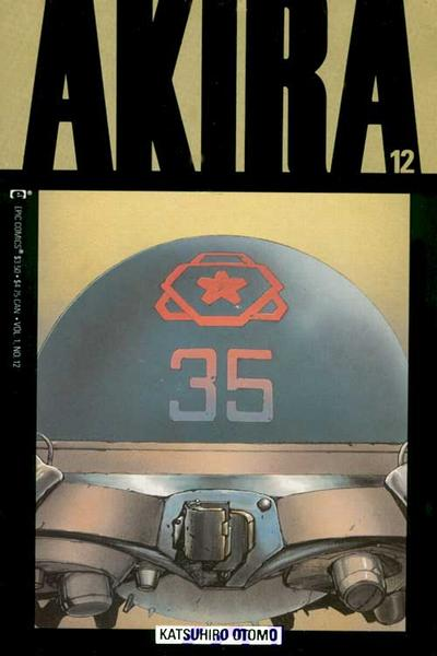 Cover for Akira (Marvel, 1988 series) #12