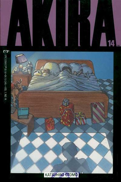 Cover for Akira (Marvel, 1988 series) #14