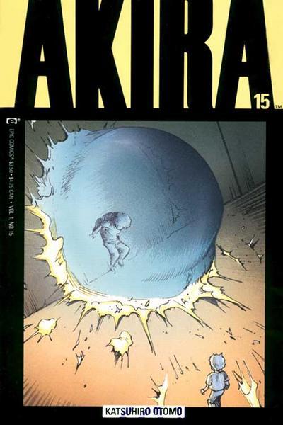Cover for Akira (Marvel, 1988 series) #15