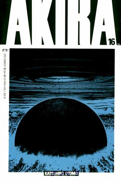 Cover for Akira (Marvel, 1988 series) #16