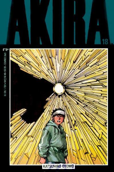 Cover for Akira (Marvel, 1988 series) #18