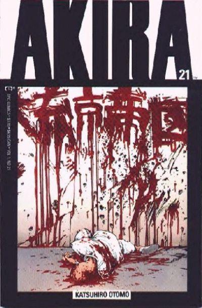 Cover for Akira (Marvel, 1988 series) #21