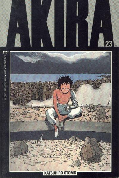 Cover for Akira (Marvel, 1988 series) #23