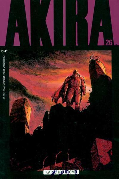 Cover for Akira (Marvel, 1988 series) #26