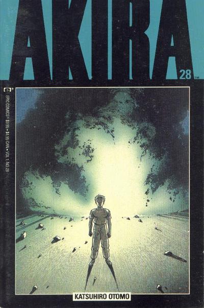 Cover for Akira (Marvel, 1988 series) #28