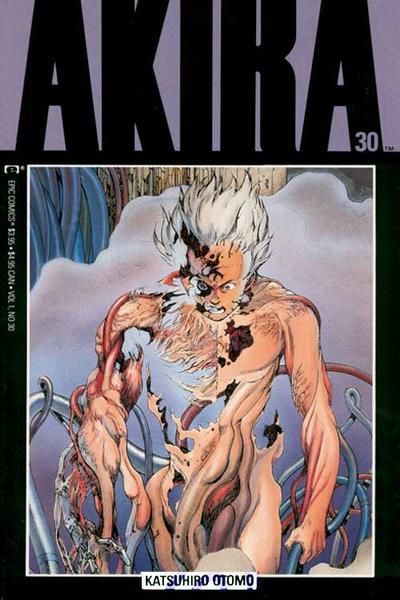 Cover for Akira (Marvel, 1988 series) #30