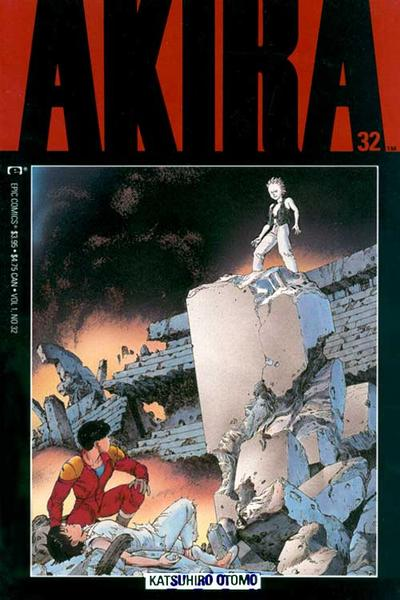 Cover for Akira (Marvel, 1988 series) #32