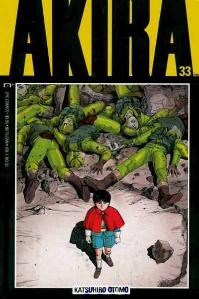 Cover for Akira (Marvel, 1988 series) #33