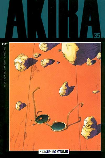 Cover for Akira (Marvel, 1988 series) #35
