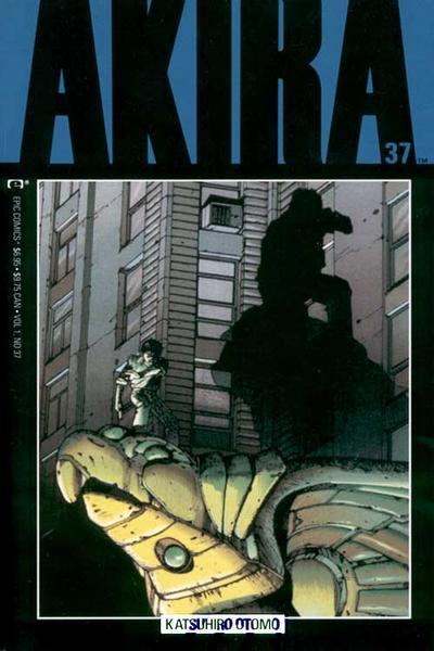 Cover for Akira (Marvel, 1988 series) #37